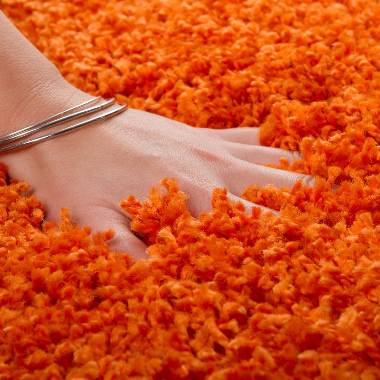 Dywan Shaggy Andiamo Pomarańczowy
