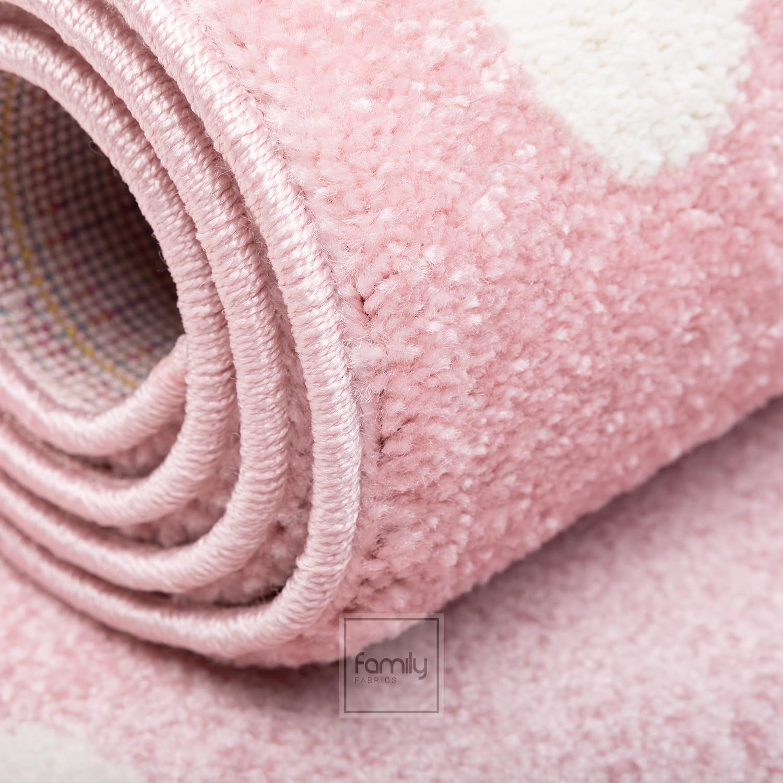 Dywan nowoczesny różowe Gwiazdki Art. 506 pink